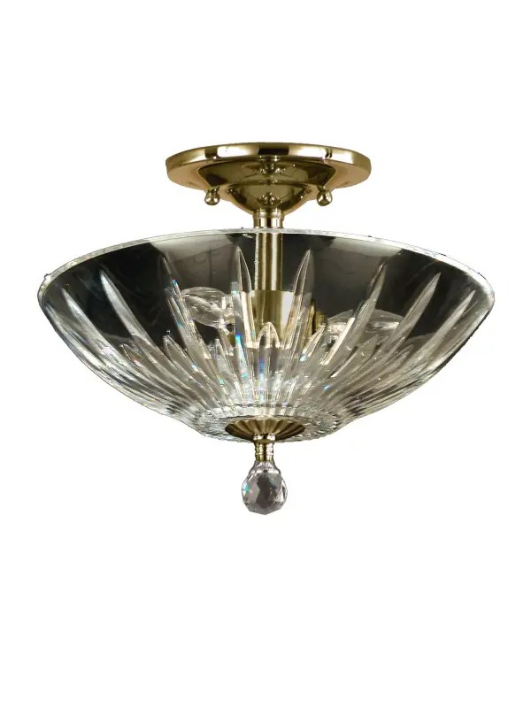 Dale Tiffany GH60720PB Polished Brass Artimus 3 Light