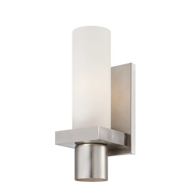 Brushed Nickel Bathroom Light Sconces