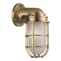 Hudson Valley Lighting 240-AGB Aged Brass Carson 1 Light ...
