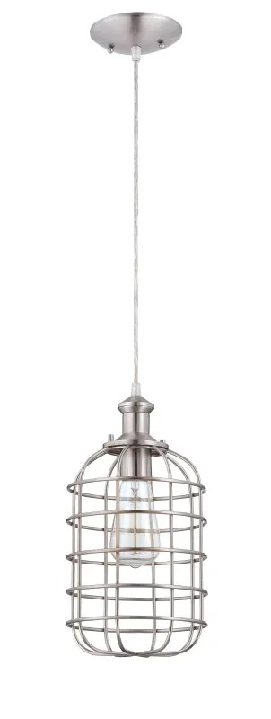 Jeremiah Lighting P330BNK1 Brushed Polished Nickel 1 Light