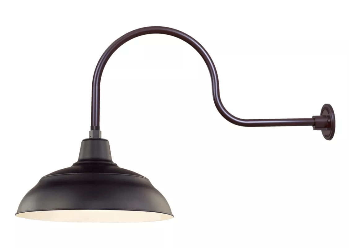Millennium Lighting Architectural Bronze R Series 1 Light