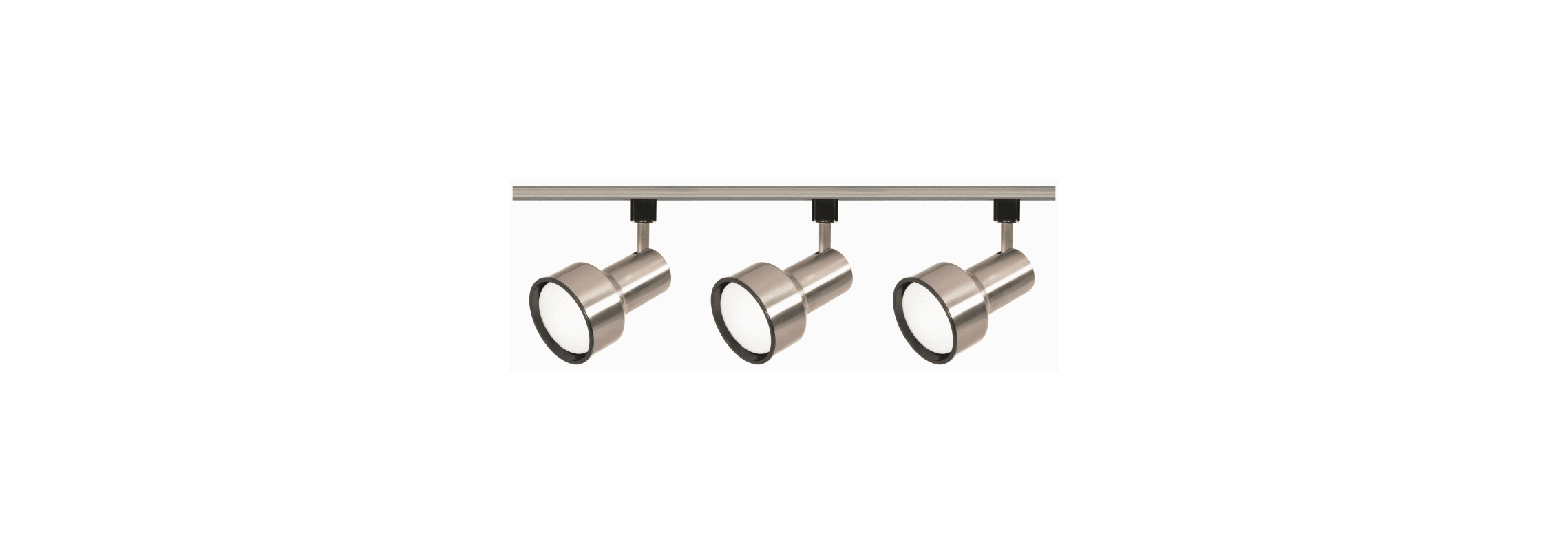 Nuvo Lighting Tk340 Brushed Nickel Three Light R30 Step