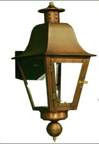 "Primo Lanterns PL-301 Copper Audubon 24"" Gas Outdoor Wall ..."