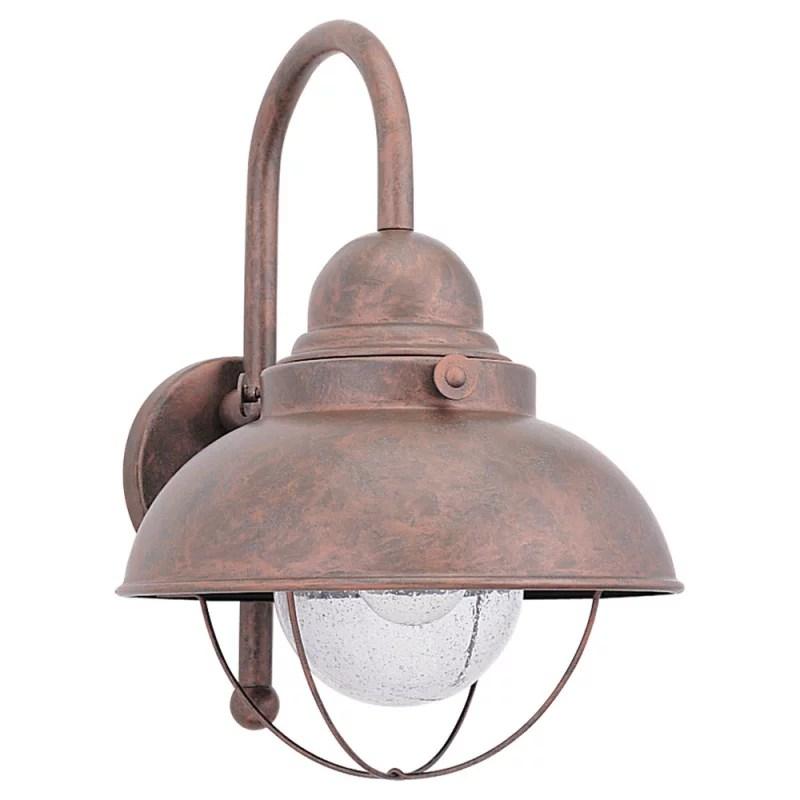 Sea Gull Lighting 887144 Weathered Copper Sebring 1 Light