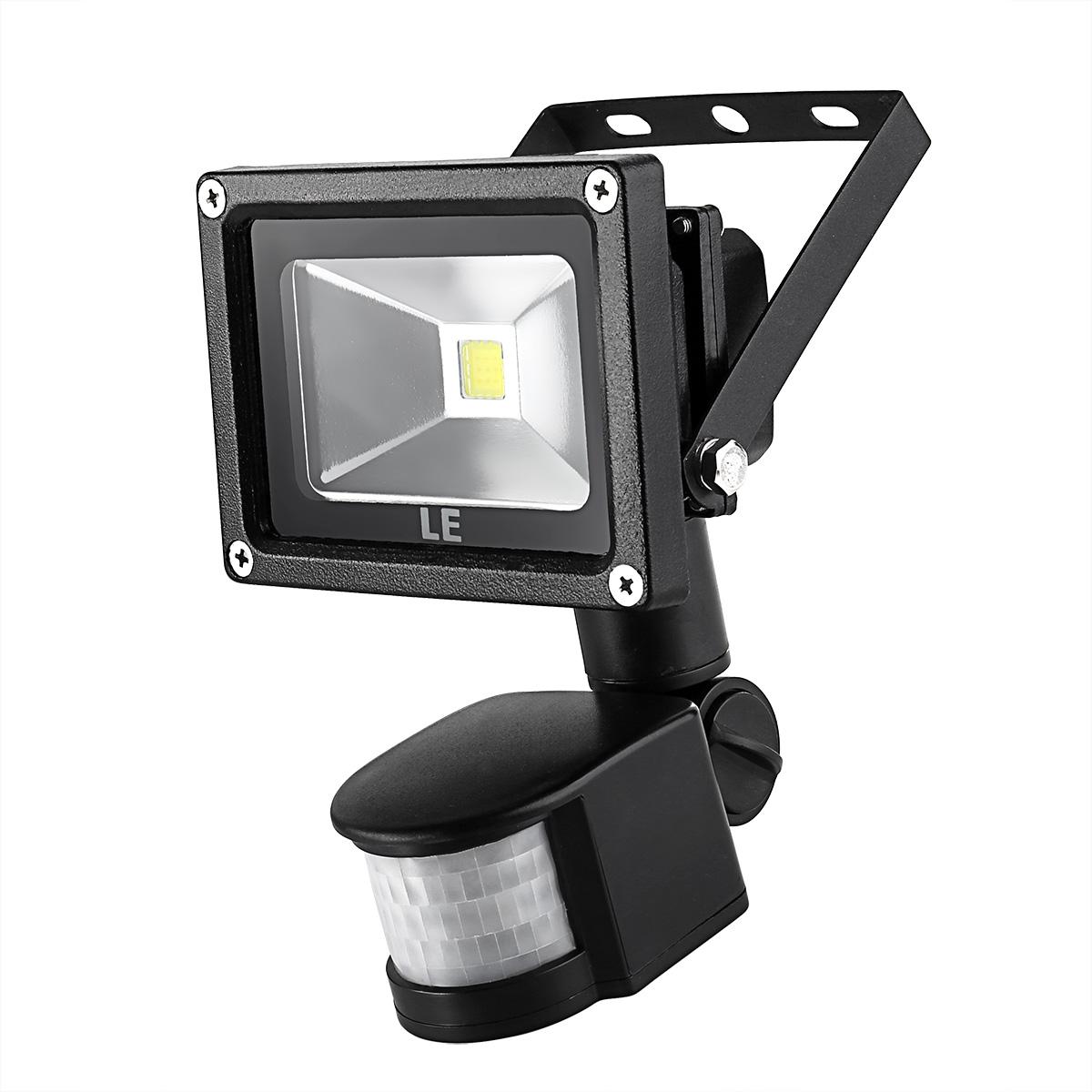 hight resolution of 10w led floodlight with pir sensor daylight white waterproof le 10w led flood light wiring diagram
