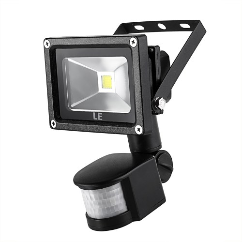 small resolution of 10w led floodlight with pir sensor daylight white waterproof le 10w led flood light wiring diagram