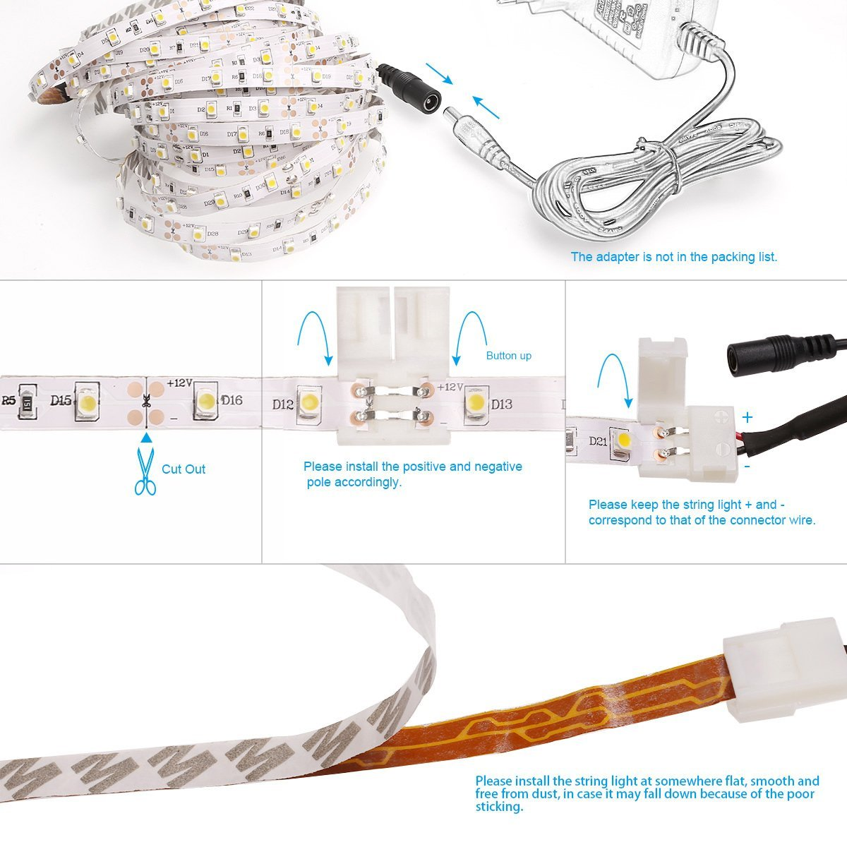 hight resolution of led strip light 12v wiring diagram