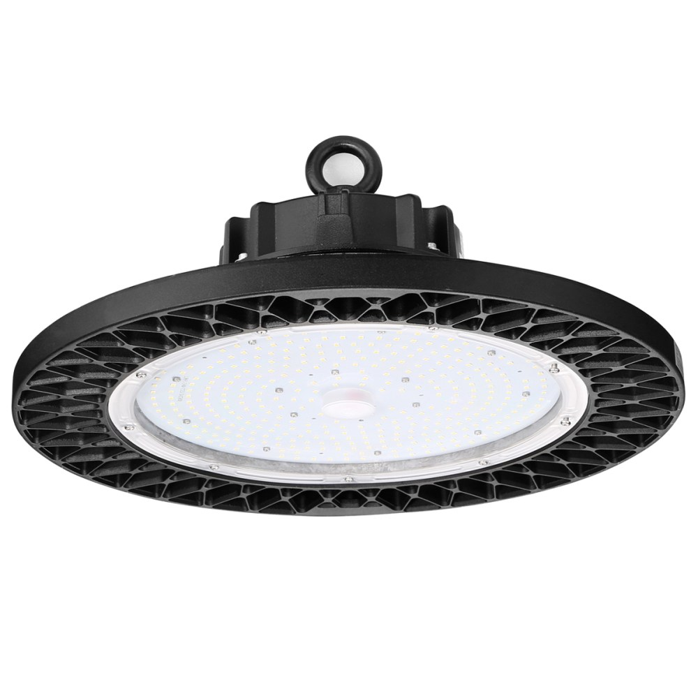 medium resolution of 240w 31200lm ufo commercial high bay led lighting 500w mh equiv warehouse lighting le