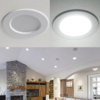 8W 3.5-Inch LED Recessed Ceiling Lights - Daylight White | LE