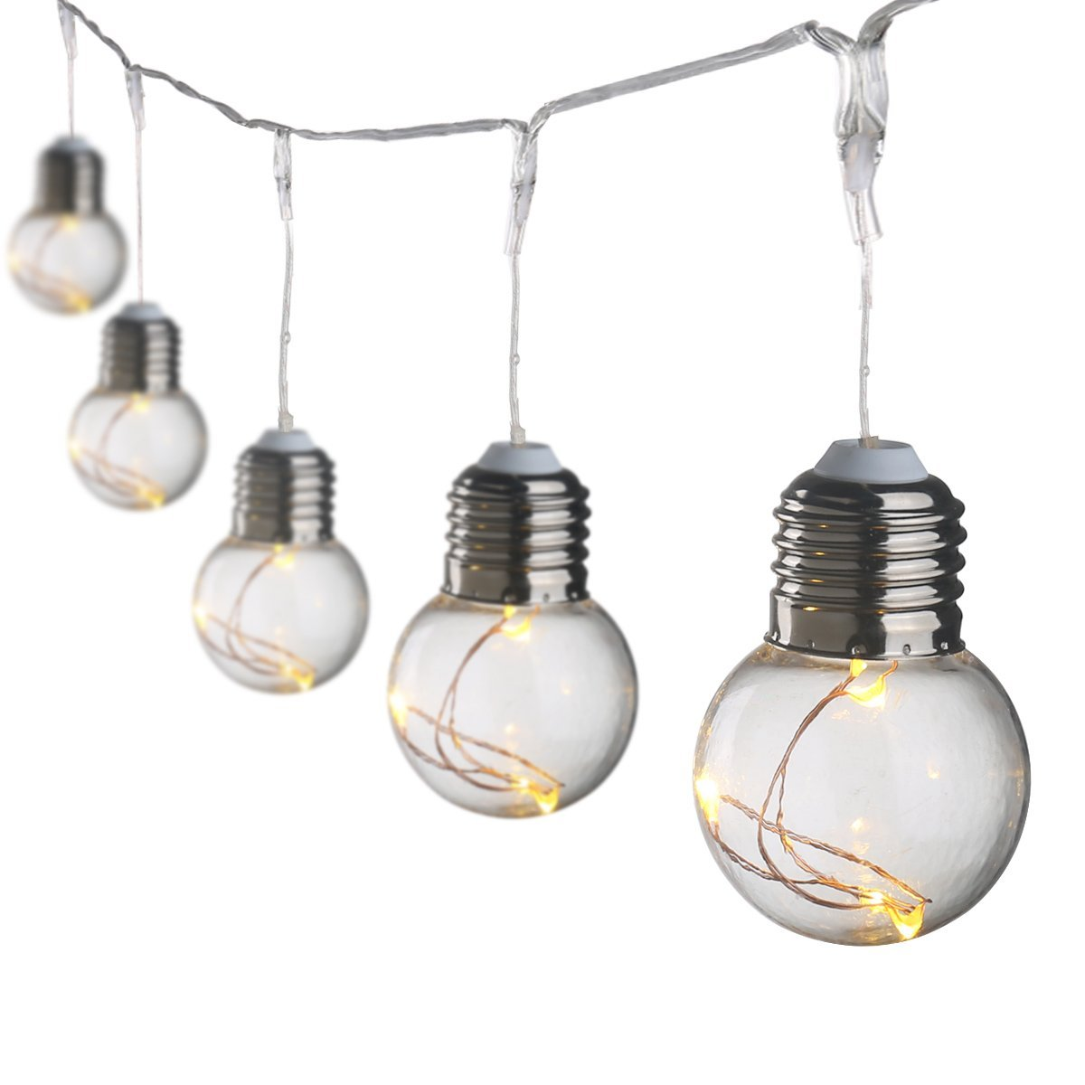 hight resolution of 19 69ft led globe copper wire string lights warm white g45 25 leds ball string light bulbs for christmas decoration ul listed