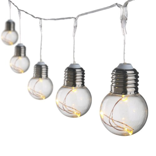 small resolution of 19 69ft led globe copper wire string lights warm white g45 25 leds ball string light bulbs for christmas decoration ul listed