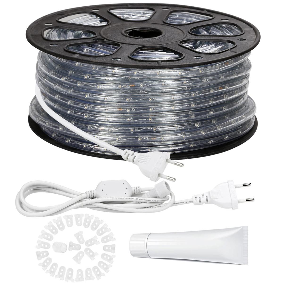 230V LED Lichtschlauch Auen Warmwei Indirekte