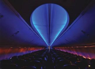 Palliative Aircraft Interior Illumination
