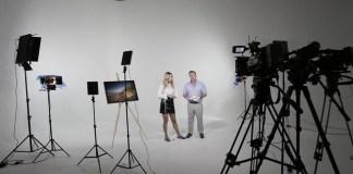 Brightline Illuminates Wxii News Set