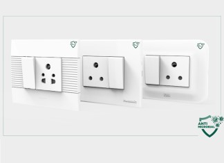 Panasonic Life Solutions India Antimicrobial Switches Sockets Series