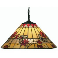 Butterfly Tiffany Ceiling Light - Pendant