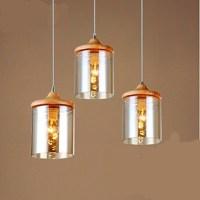 Glass Art small Pendant lamp IKEA Bedroom light ...
