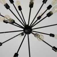 16 Light Dining Room Vintage Retro Sputnik Chandelier ...