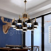 Modern/ Contemporary 12 Light 2-Tier Chandelier Lamp for ...