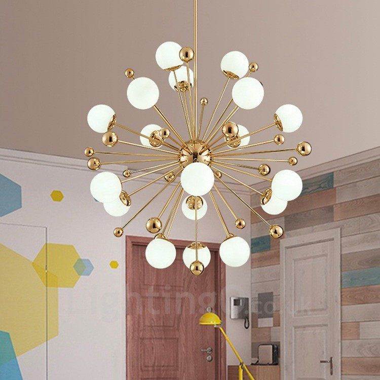 18 Light Modern Contemporary Ceiling Lights Copper