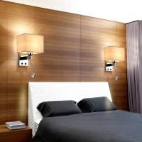 The Modern Hotel Room Reading Creative Fabric Corridor ...