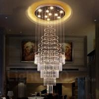 10 Lights Modern LED Crystal Ceiling Pendant Light Indoor ...
