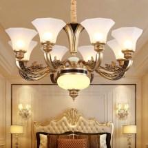 8 Light Retro Traditional Living Room Luxury Bedroom