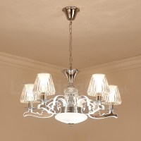 Retro, Rustic, Luxury Crystal Pendant Lamp Chandelier with ...