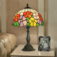 Sunflower Lamp Shade Exquisite 12 inch Tiffany Table Lamp ...