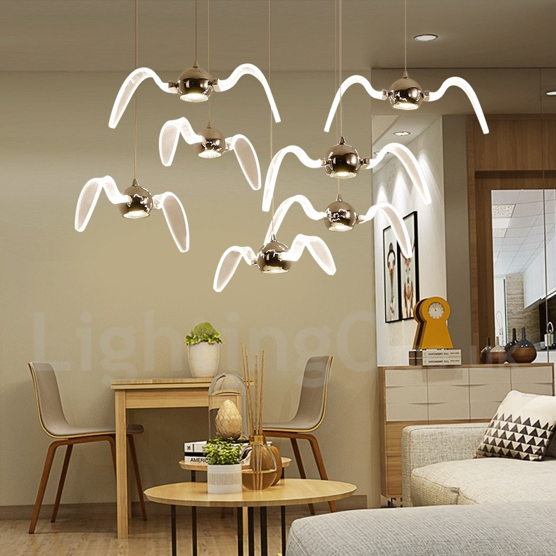 Modern/Contemporary Lighting Living Room, Dining Room