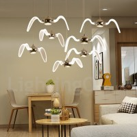 Modern/Contemporary Lighting Living Room, Dining Room ...