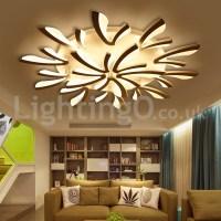 Personality 15 Lights Elegant Modern Flush Mount Ceiling ...