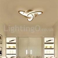3 Bulbs Modern Flush Mount Ceiling Lights Living Room ...