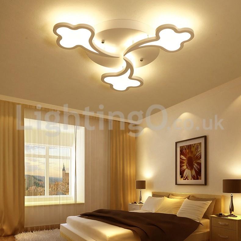 Cheap Meteor Shower Design Modern Flush Mounted Ceiling