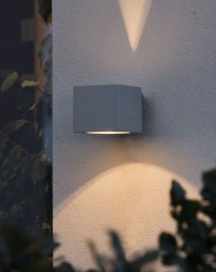 Cube Wall Light with Fan Effect
