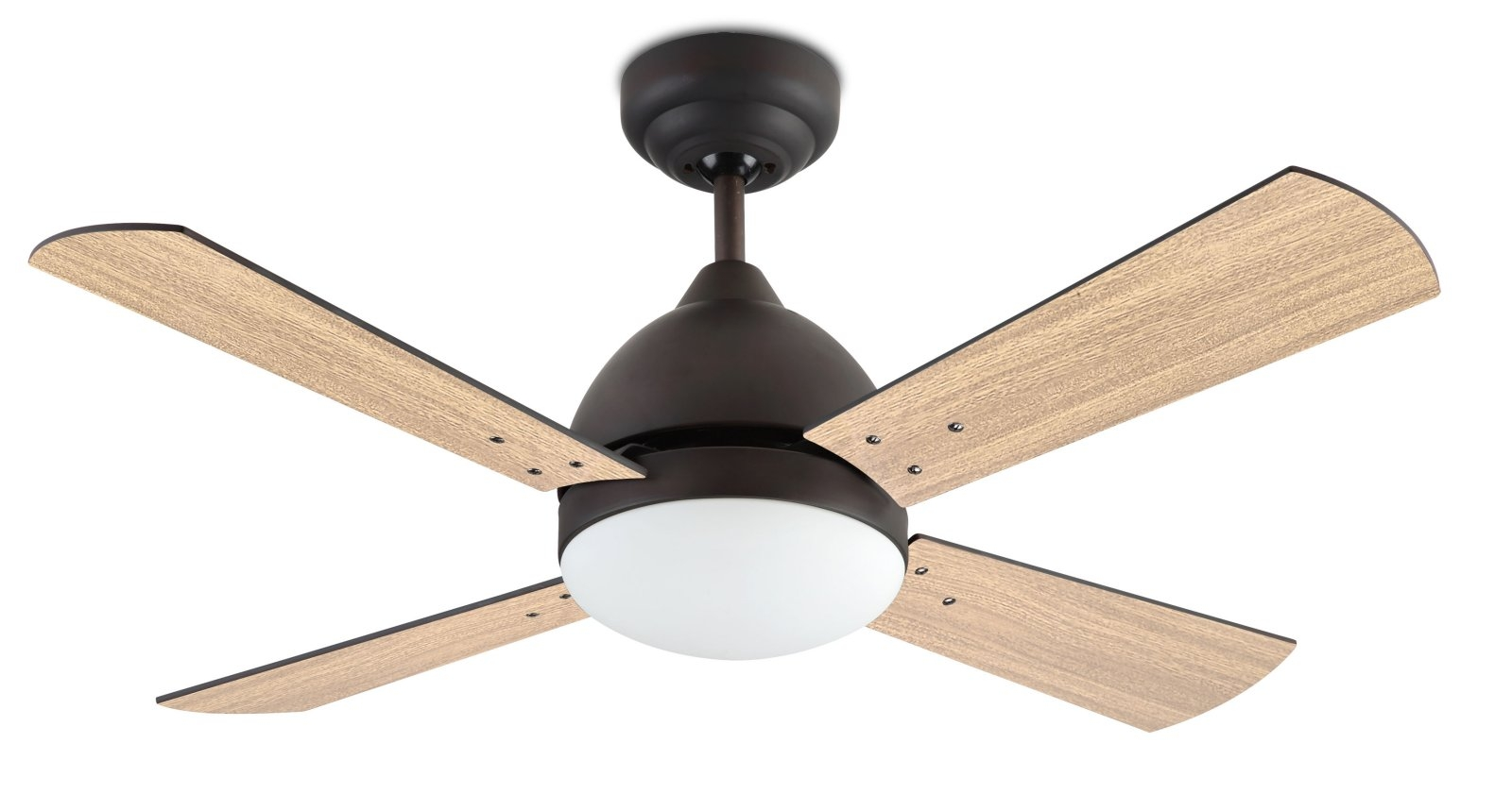 Large Ceiling Fan Complete with Light D:1066mm