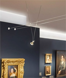 tension wire cable track lighting