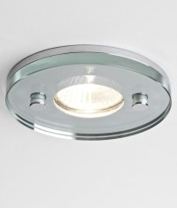 IP65 Round Glass Shower Downlight