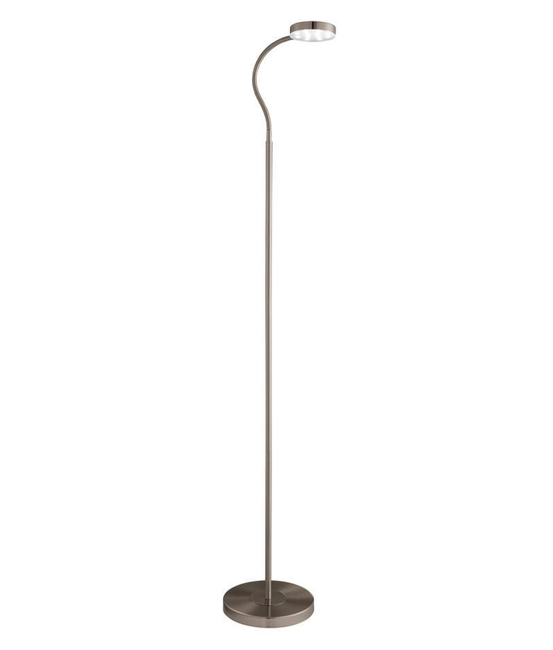 Simple Adjustable Tall LED Floor Lamp