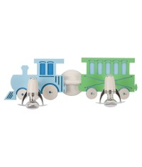 Childrens Wall Mounted Train Light with E14 Lamps