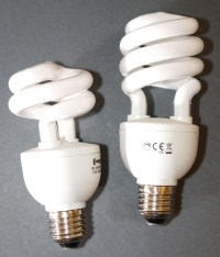 15w and 20w E27 Dimmable CFL Lamps