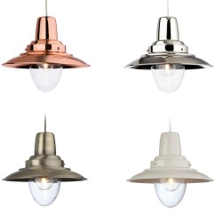 Rustic Pendant Lighting Kitchen Europa Cabinets Fisherman Lantern D:290mm