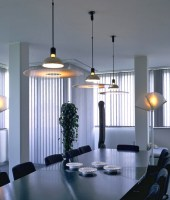 Frisbi Stylish Suspended Pendant by Flos
