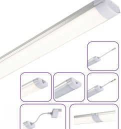 easy install linkable linear led battens can also be suspended 2 sizes [ 903 x 1062 Pixel ]