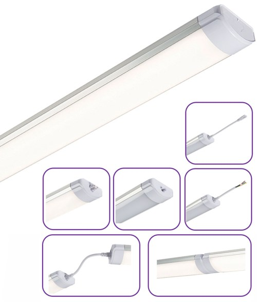 small resolution of easy install linkable linear led battens can also be suspended 2 sizes
