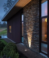 Recessed in-ground uplight with adjustable beam angle ...