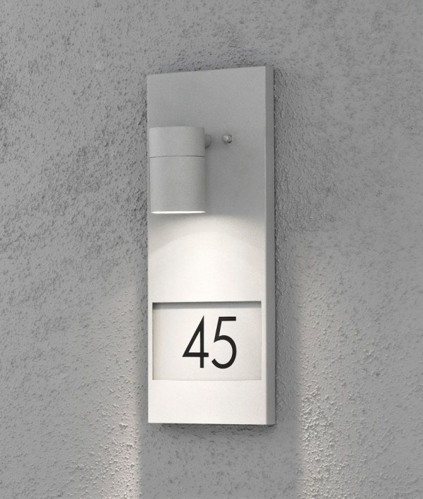 Illuminated House Number Plaque