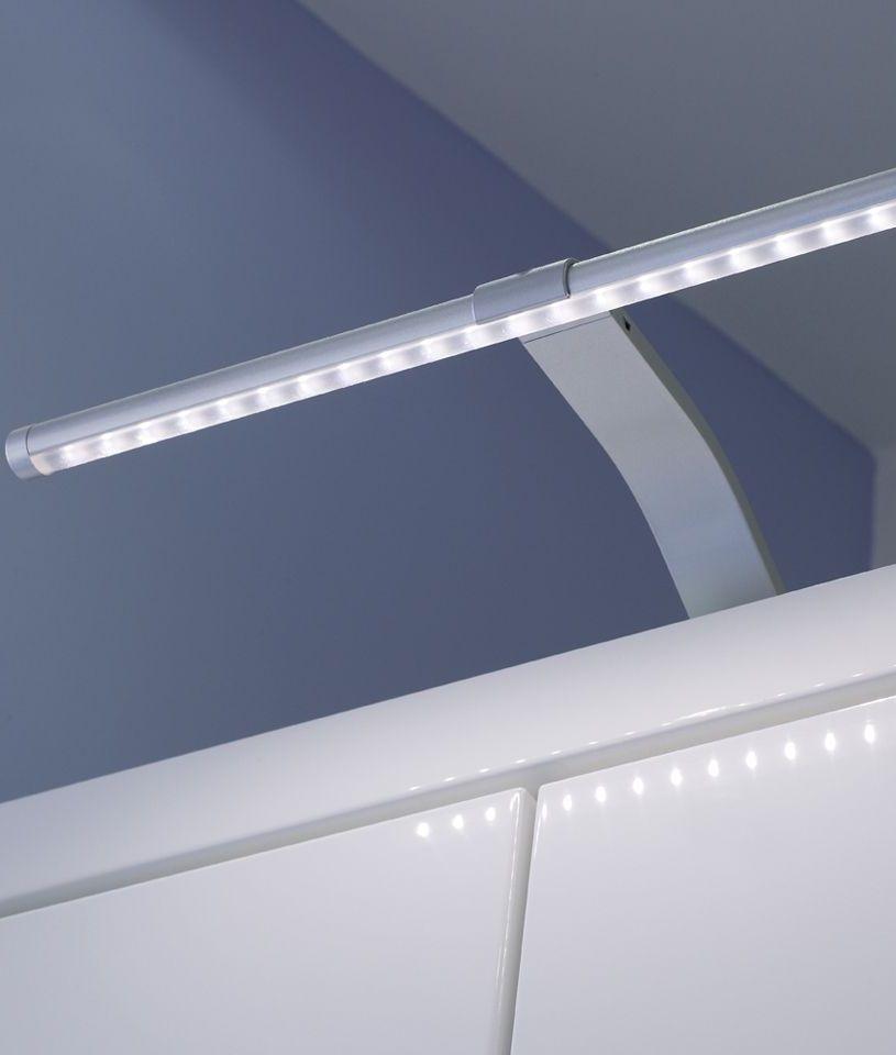 Slim LED Over Cabinet Light on swan neck bracket
