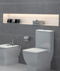 Bathroom IP65 White LED Tape