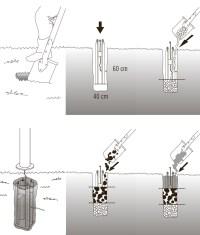 Stylish Modern Lamp-Post